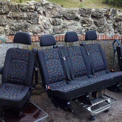 Limpieza de sillones de vehículos