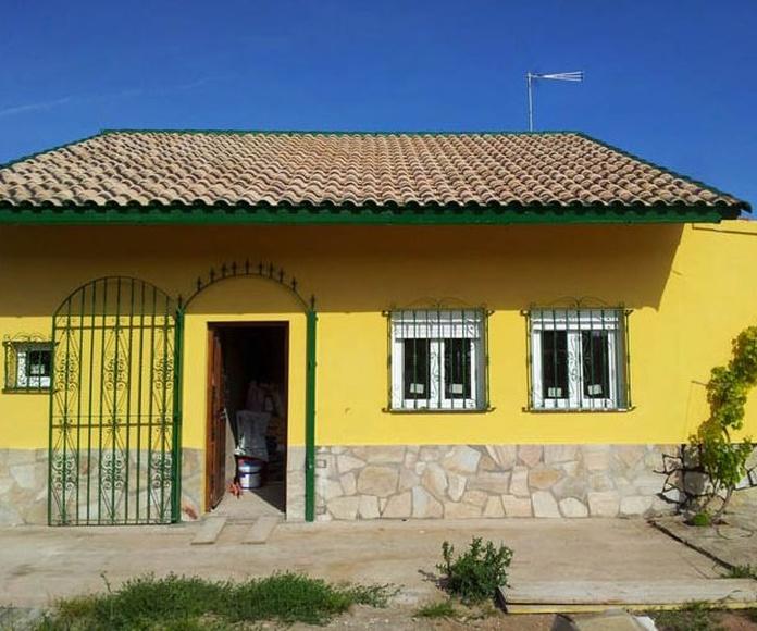 Restauración de tejados, canales y terrazas: Servicios de Rehabilitaciones Manzano