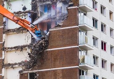 Demolición de obras