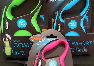 Los Flexi  con divertidos colores y cinta a juego en Mascotes Castellbell