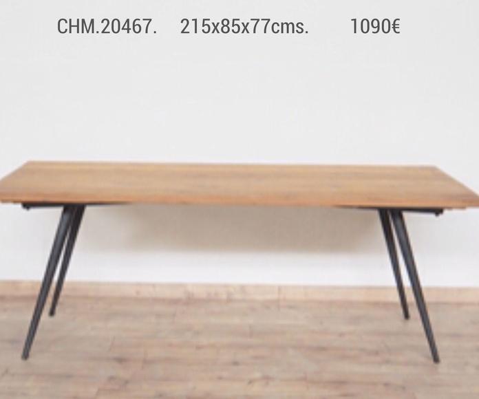Mesa de comedor CHM-20467: Catálogo de Ste Odile Decoración
