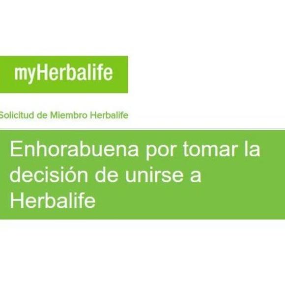 Conviértete en asociado de Herbalife