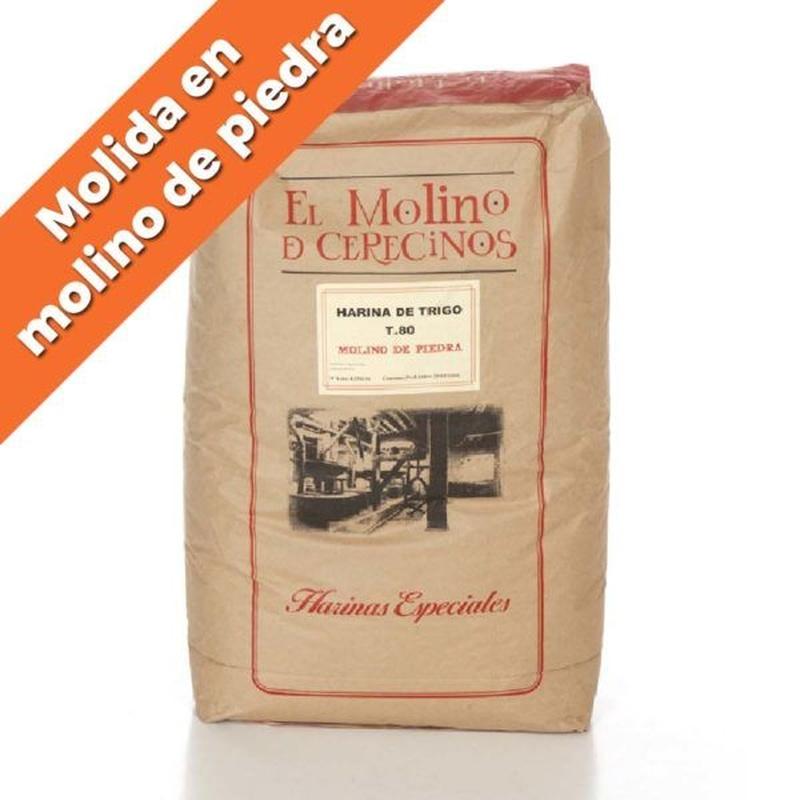 """Harina de trigo T.80 """"Molino de piedra"""" 25 kg: Productos de Coperblanc Zamorana"""