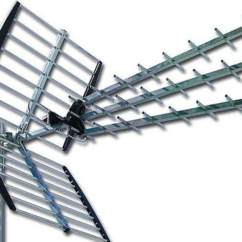 Antenas colectivas e individuales : Telecomunicaciones de Zabatel, S.L.
