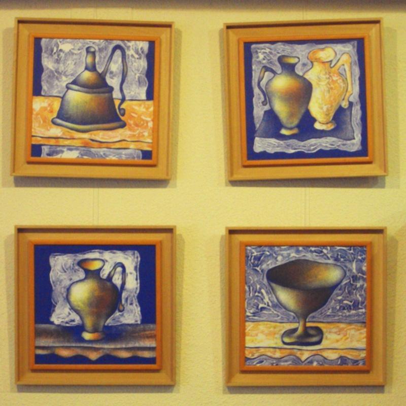 Colección Anforas vibrantes