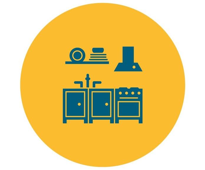 Mobiliario, decoración, menaje y electrodomésticos