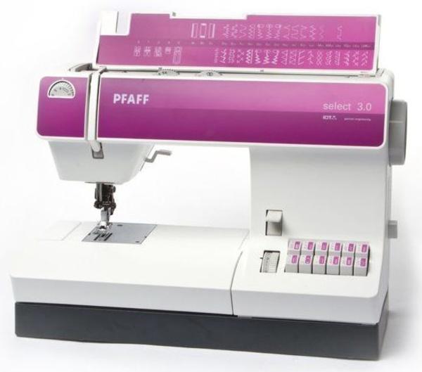 Máquinas Pfaff modelo Select 3.0: Maquinas de coser Valencia de Juan Galdón Máquinas de Coser
