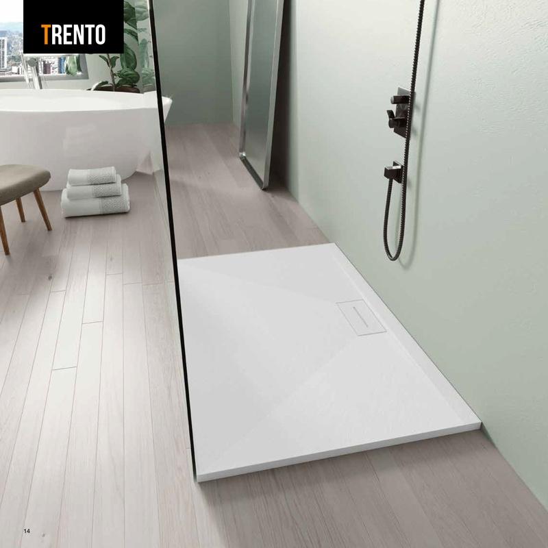 Plato Ducha Trento: Productos de Materiales de Construcción Camino