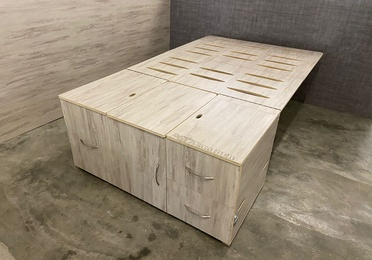 Mueble Organizador para conservar 3ª fila de asientos