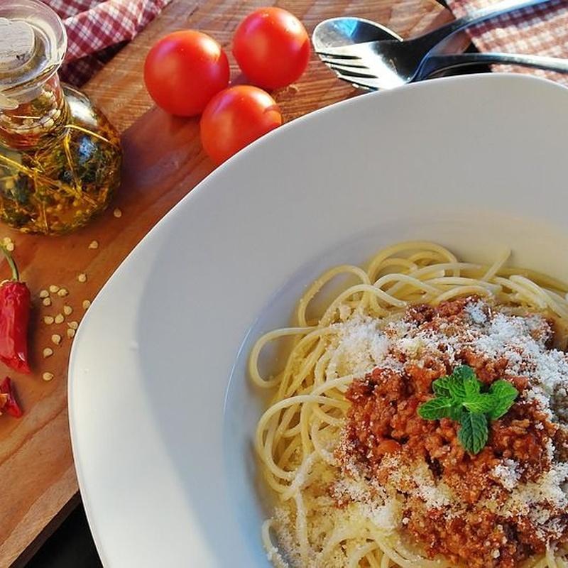 Pasta, arroces y revueltos: Carta de Restaurante Doyma
