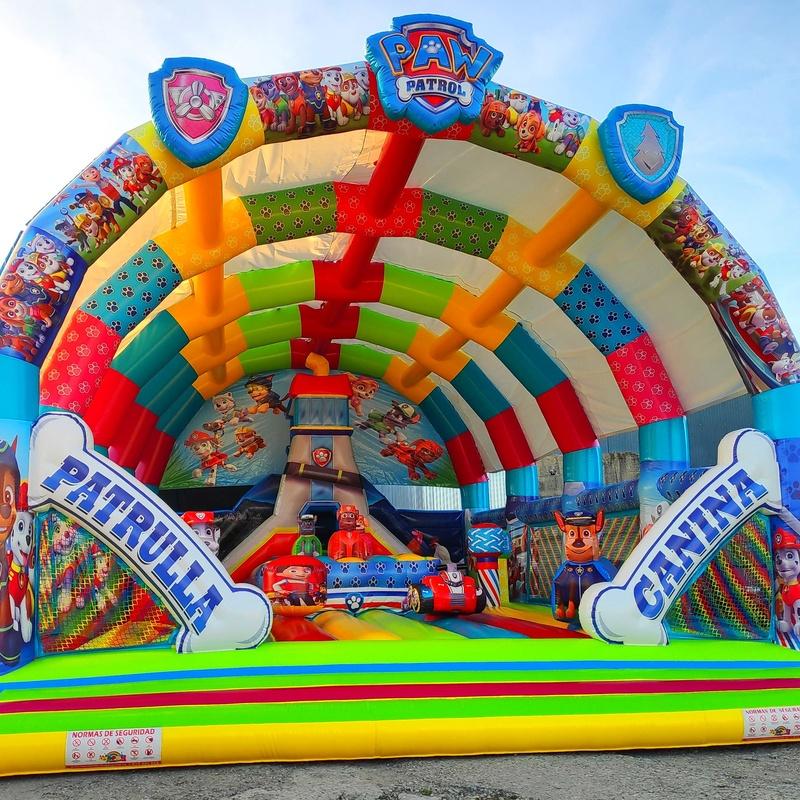 Castillo hinchable balsa movimiento: Catálogo de Hinchables Happy Jump