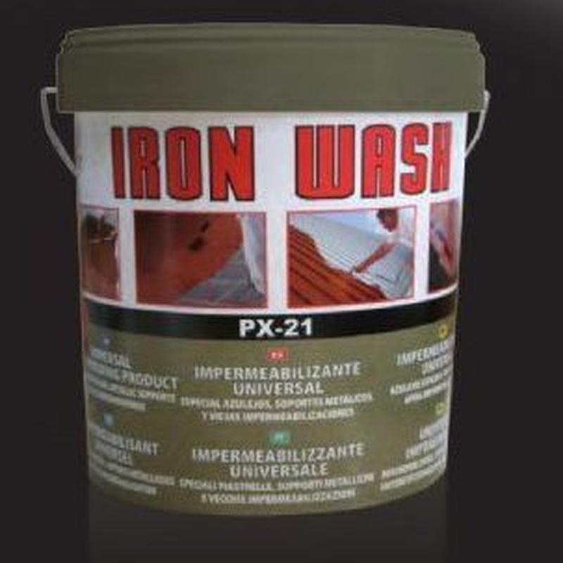 Iron Wash: Productos y servicios de Dicerfer