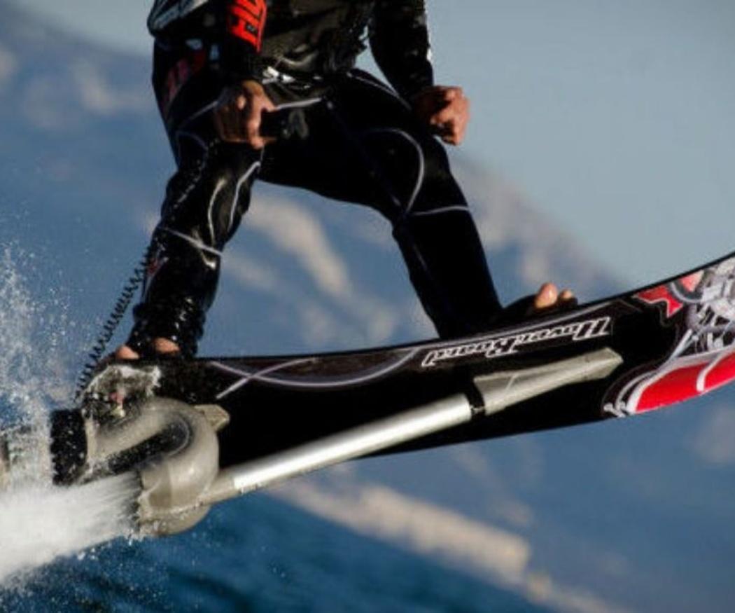 Qué es el hoverboard acuático