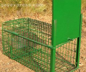 Jaula trampa para conejos