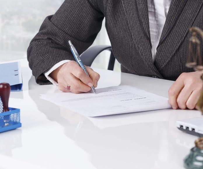 Apoyo jurídico y legal: Servicios de Co+Gestión