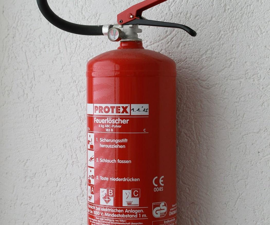 Clasificación de los extintores según el fuego y el agente