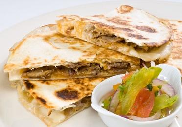 Gringas (tortilla de trigo rellena)