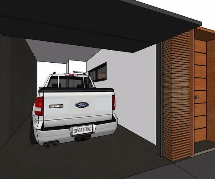Diseño de casa de playa en Piura