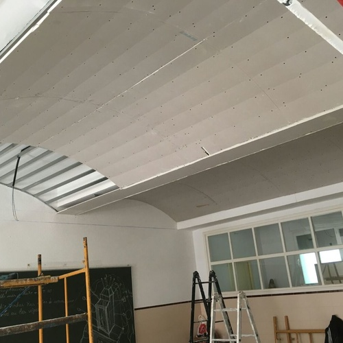 techo curvo