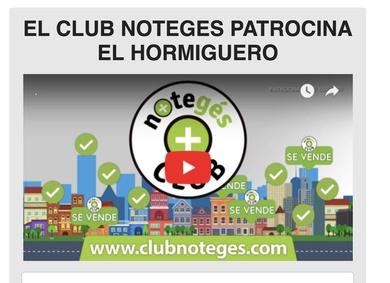 PRIME MALLORCA PROPERTIES, EL CLUB NOTEGES, al cual estamos afiliados patrocina EL ORMIGUERO