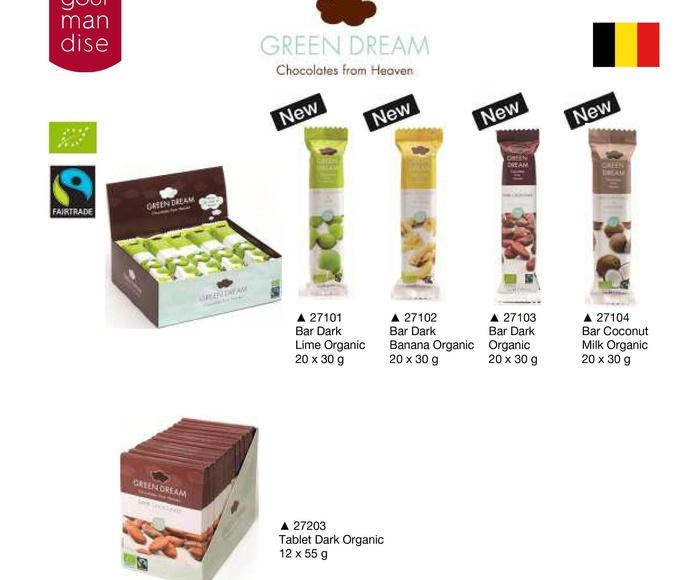 Green Dream chocolates: Productos de Casa Bastida