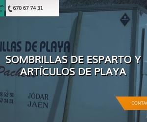 Sombrillas de playa en Andalucía | Sombrillas Pacheco