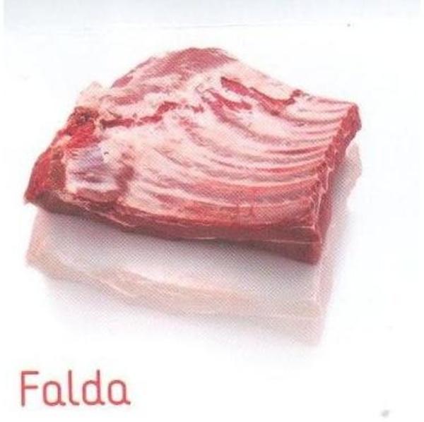 Falda: Piezas de carne de vacuno de Natucarsa