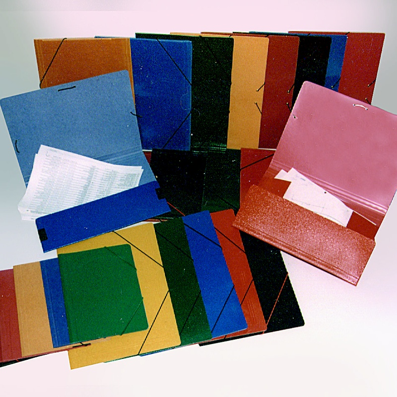 Carpeta sencilla colores