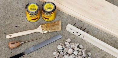 Cómo añadir un efecto de desgaste en madera nueva