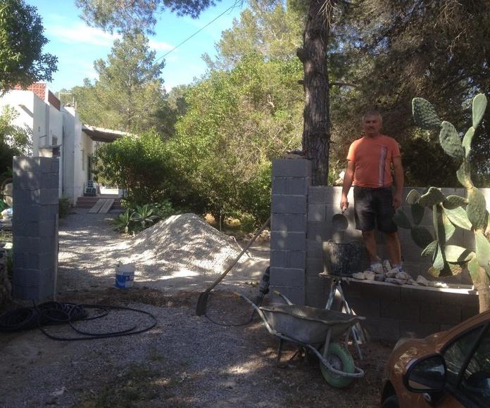 Mantenimiento de jardín: Servicios de Reformas Integrales Ibiza