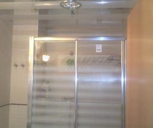 Techo Bicolor Blanco Brillo Espejo Plata, baño