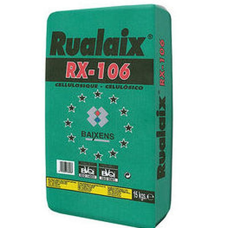 RX-106 Rualaix Celulósico en tienda de pinturas en ciudad lineal.