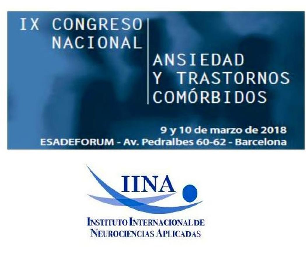 Congreso nacional de ansiedad y trastornos comorbidos 2018