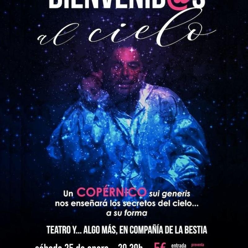 ¡Bienvenid@s al cielo! : Programación de Café Teatro Rayuela
