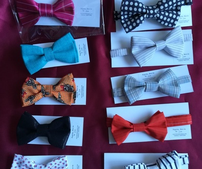 Pajaritas de caballero, confeccionadas por Lira