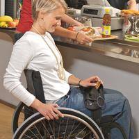 Bolsa para silla de ruedas Black Pack