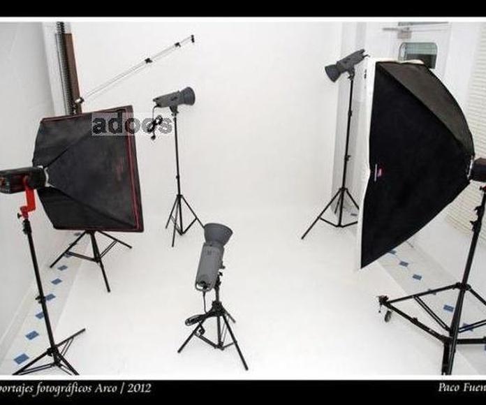 Curso de fotografía en Estudio fotográfico