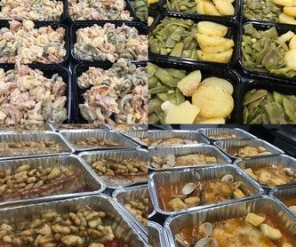 Nuestros platos: Productos y servicios de Rustic Torredembarra