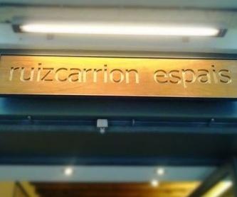 Proyecto suite: Proyectos de Ruiz Carrión Espais