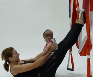 Clases de pilates para mamás y bebés en Alcobendas