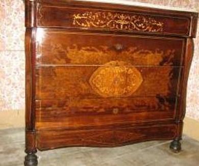 Restauración y conservación de muebles antinguos