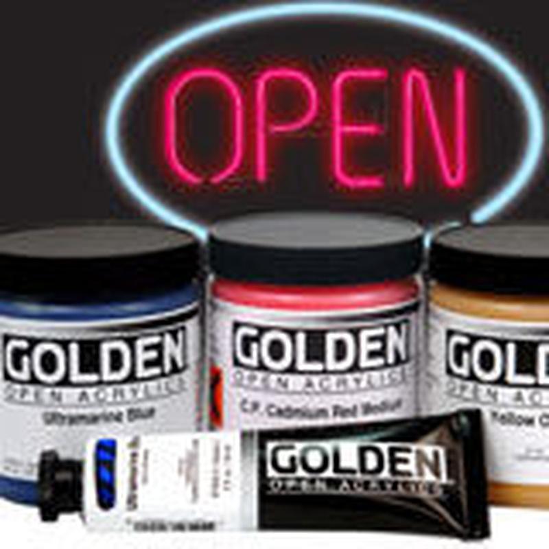Acrílicos Open Golden: Bellas Artes de La Casa del Artista P. Chicano