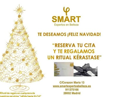 Navidad 2017 SMART expertos belleza