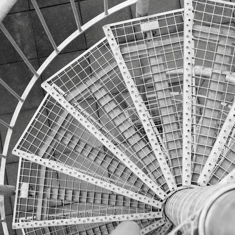 Barandillas metálicas: Catálogo cerrajería  de acero de Montajes Arjosan