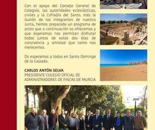 ACTOS DE LA RENOVACION DE LA OFRENDA A NUESTRO PATRON SANTO DOMINGO DE LA CALZADA este año por el Co