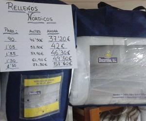 Rellenos nórdicos de diferentes tamaños y precios