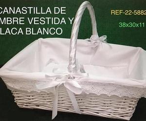 CANASTILLA RECT BL F/PUNTILLA 38X30X11