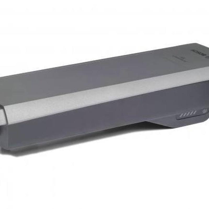 Bateria trasportin BOSCH PowerPack Rack 300 platino: Productos de Bikes Head Store