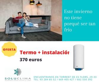 Instalación de calefacción: Servicios de Soluclima