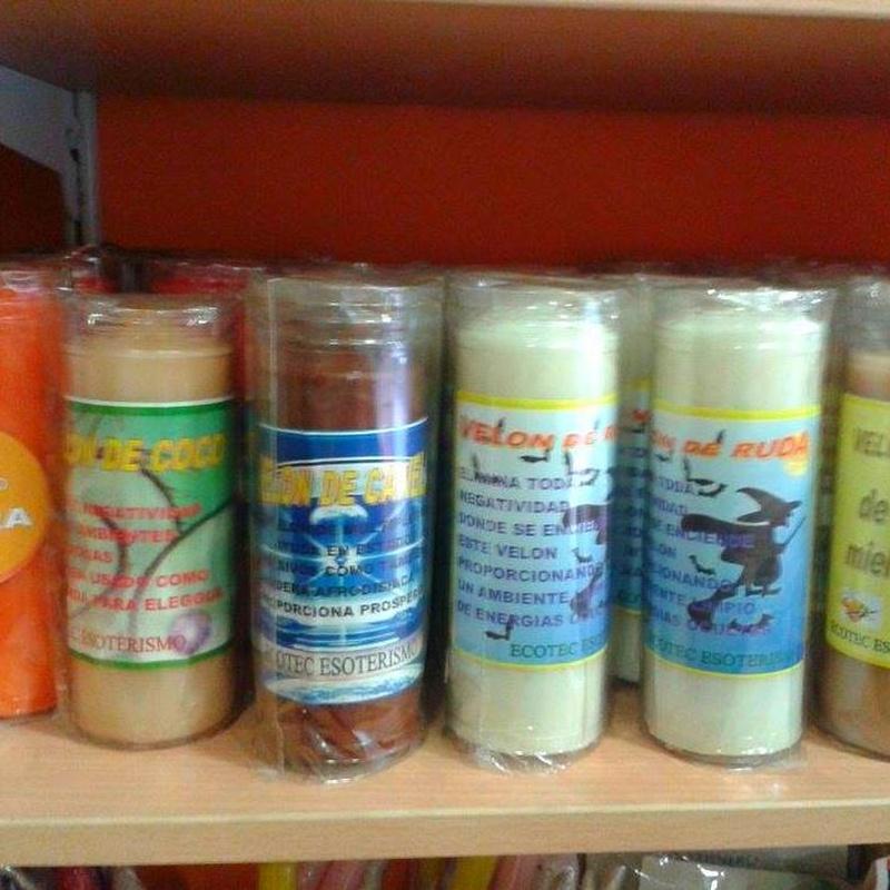 Velones de aromas: Cursos y productos de Racó Esoteric Font de mi Salut